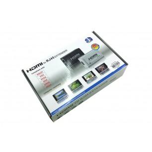 Extensor HDMI até 60 Metros Via RJ 45