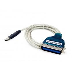 Cabo Conversor USB AM x Paralelo Centronic 36 vias 1,50 Metros