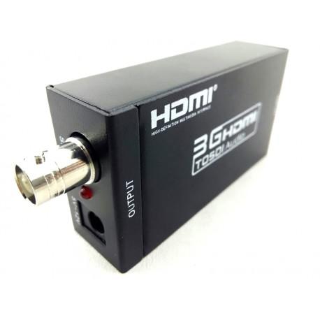 Conversor Adaptador HDMI para SDI / Hd-sdi / 3g Sdi