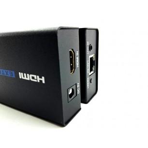 Distribuidor Extensor HDMI via RJ45 CAT 5E / CAT6 100 Metros