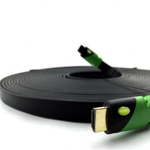 Cabo HDMI FLAT 15 Metros 2.0 Ultra HD 3D 4K