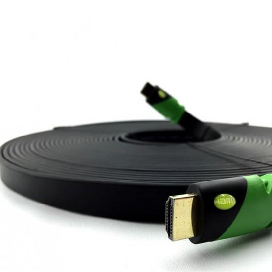 Cabo HDMI FLAT 20 Metros 2.0 Ultra HD 3D 4K