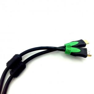 Cabo HDMI 5 Metros C/ 2 Filtros Versão 1.4 Ultra HD 3D