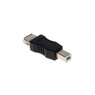 Adaptador USB A Fêmea x B Macho