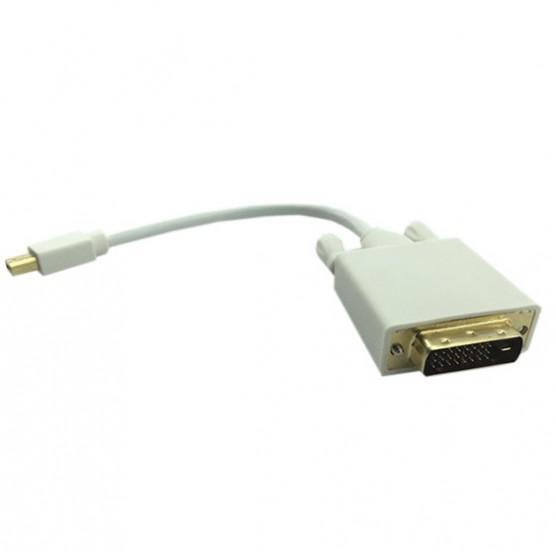 Cabo Mini Displayport M x DVI M (24+1)