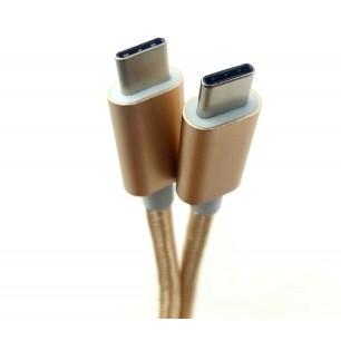 CABO USB 3.1 Tipo C Macho Para Cabo Usb 3.1 Tipo C Macho