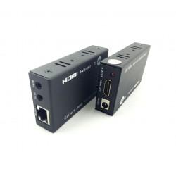 Extensor HDMI até 30 Metros Via Cabo De Rede CAT 5/6