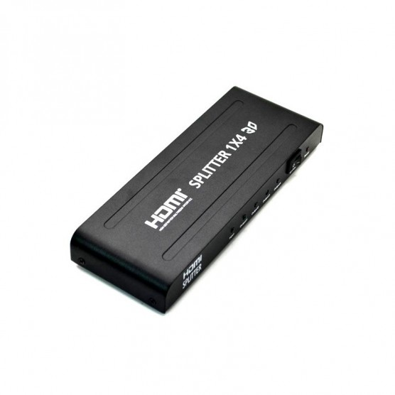 Splitter Hdmi Distribuidor 1x4 V 1.4 Full 3d 4k X 2k