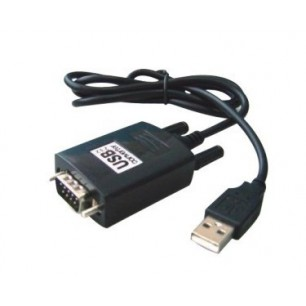 Conversor USB AM X Serial DB9 de 0.90 Metros