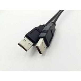 Cabo USB A M X A M 3,00 Metros Pontas Niqueladas