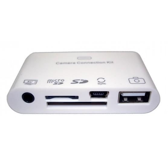 Kit De Conexão 5 Em 1 Para Ipad / Iphone