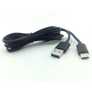 Cabo USB 3.1 Tipo C Macho Para USB 3.0 A Macho de 1,80 metros