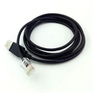 Cabo USB de comunicação para Nobreaks APC USB x RJ 50