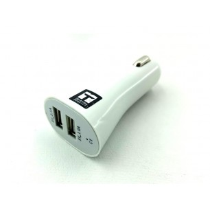Carregador automotivo x 2 usb - 5 v