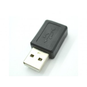 Adaptador USB AM x Mini USB Fêmea