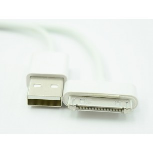 Cabo Usb para Iphone 3g 3gs 4g 4s Ipad Ipod