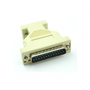 Adaptador Serial DB9 M X DB25 M