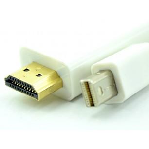 Cabo Thunderbolt Mini Displayport Macho x HDMI Macho de 1,80 Metros