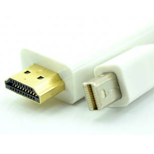 Cabo Thunderbolt Mini Displayport Macho x HDMI Macho de 1,80 Metros