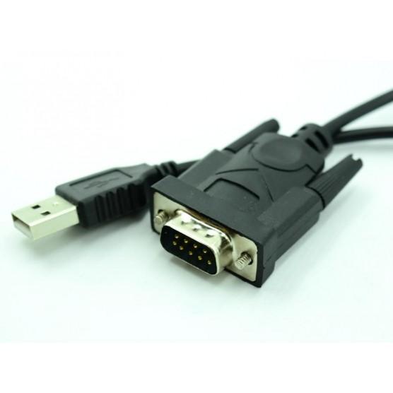 Cabo conversor USB AM X Serial DB 9 M de 1,50 Metros