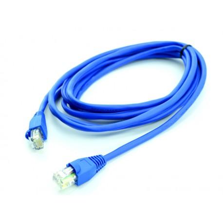 Cabo de rede 3 metros patch cord cat 5e azul - Cable ethernet 20 metros ...