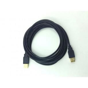 Cabo USB A M X A M Com 5 Metros Pontas Ouro