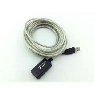 Extensor USB com repetidor ativo de 5 metros