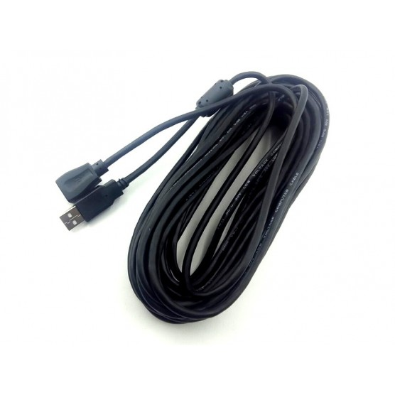 Cabo extensor USB A Macho x A Fêmea 10 metros c - 1 filtro