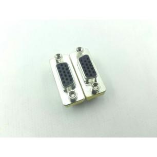 Emenda metal VGA DB15 F x DB15 F - 20 Unidades