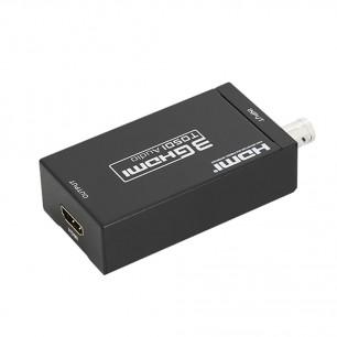 Adaptador Conversor SDI, HD-SDI e 3G-SDI Para HDMI Para Câmera