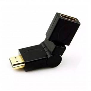 Adaptador HDMI m X HDMI f 360 Graus Rotacional
