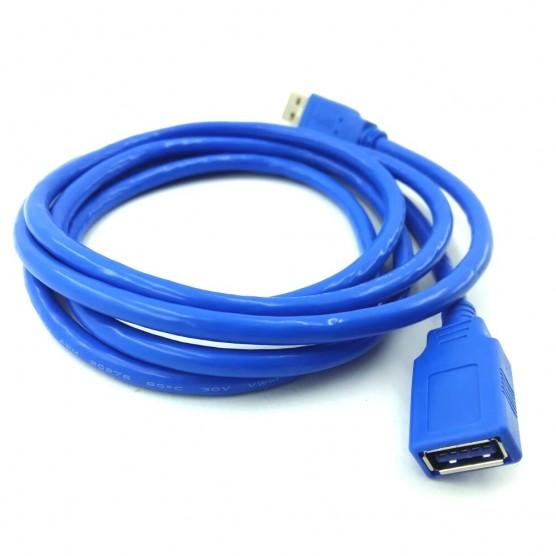 CABO USB 3.0 A MACHO X A FÊMEA 1,80 METROS