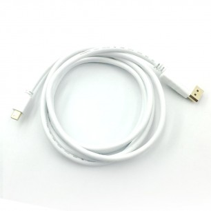 Cabo Mini Displayport Thunderbolt x Displayport de 2 Metros