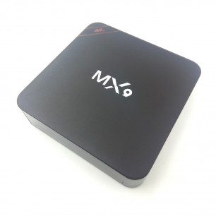 TV BOX Smart 4K Mx9 Wireless Android 6.0
