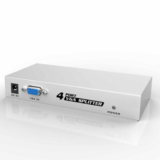 Splitter Distribuidor VGA 1 Entrada x 4 Saídas