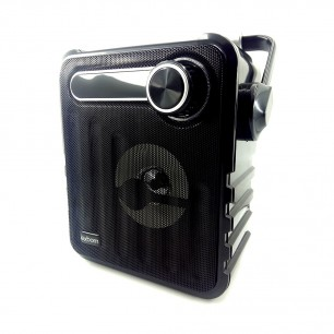 Caixa de som Bluetooth Estilo Retrô 5Watts FM portátil