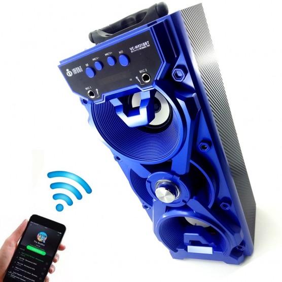 Caixa de Som Portátil Bluetooth Voxcube Visor Led 14W S Bass 3 falantes
