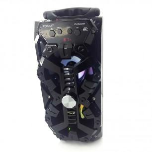 Caixa de Som Bluetooth Wireless Led 8 Watts S Bass Multimídia