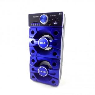 Caixa de Som Torre Bluetooth Visor LED 12 Watts com Subwoofer