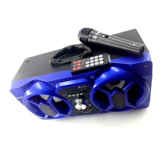 Caixa de Som Bluetooth 12 Watts Mini System Voxcube Mobile Bass