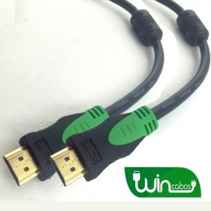 Cabo HDMI Tv 4K 19 Pinos 2.0 de 15 metros com Filtro 9mm