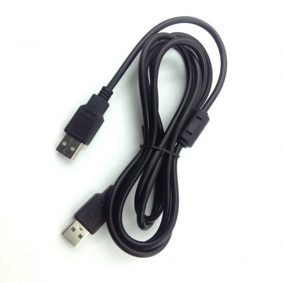 Cabo USB A Macho x A Macho high speed versão 2.0 de 1,80 Metros c/ filtro ponta niquelada