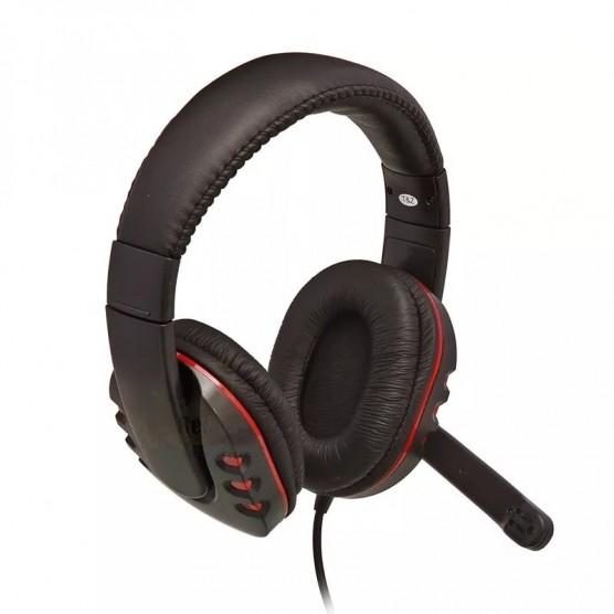 Fone de Ouvido Headset Gamer com Microfone integrado