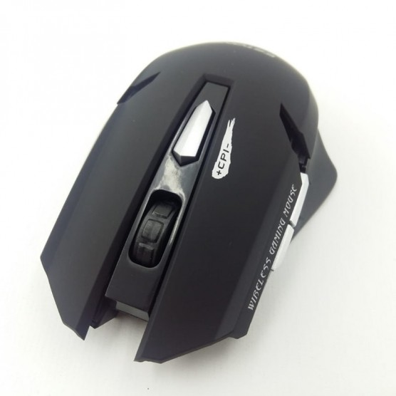 Mouse Gamer E-1700 1600 DPI 6 Botões LED RGB black