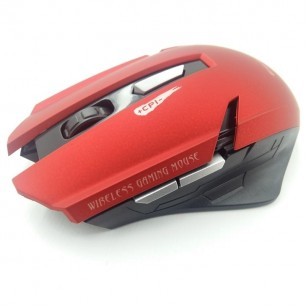 Mouse Gamer E-1700 1600 DPI 6 Botões LED RGB Red