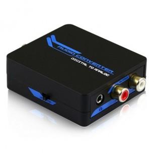 Conversor de áudio Digital para Analógico com conexão P2