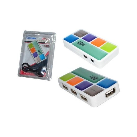 CABO MINI HUB USB 2.0 – 4 PORTAS